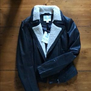 Reiss Leather Jacket (NWT)